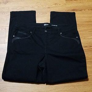 Woman's Black Jeans
